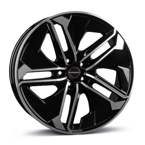 BORBET_TX_black rim polished glossy